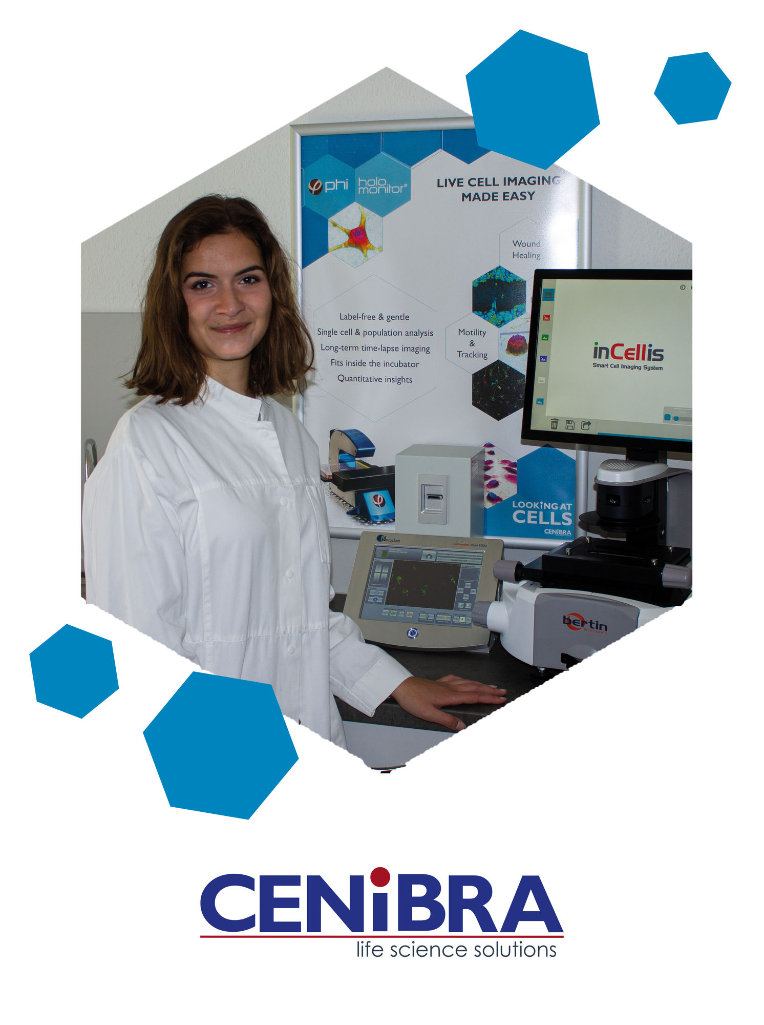 Experts for Cytometry, Cell Imaging, Cell Count, Confocal Imaging, Cell Microscopy, Holographic Imaging